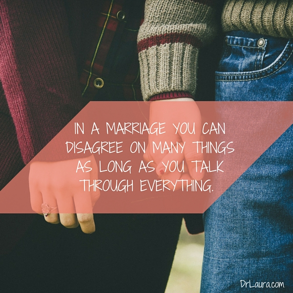 Dealing with Disagreements in Your Marriage